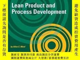 二手書博民逛書店Lean罕見Product And Process DevelopmentY255562 Allen C. W