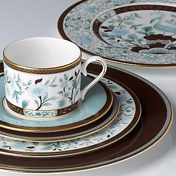 Palatial Garden 五件骨瓷餐具組