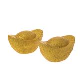 2入12公分金蔥元寶擺飾