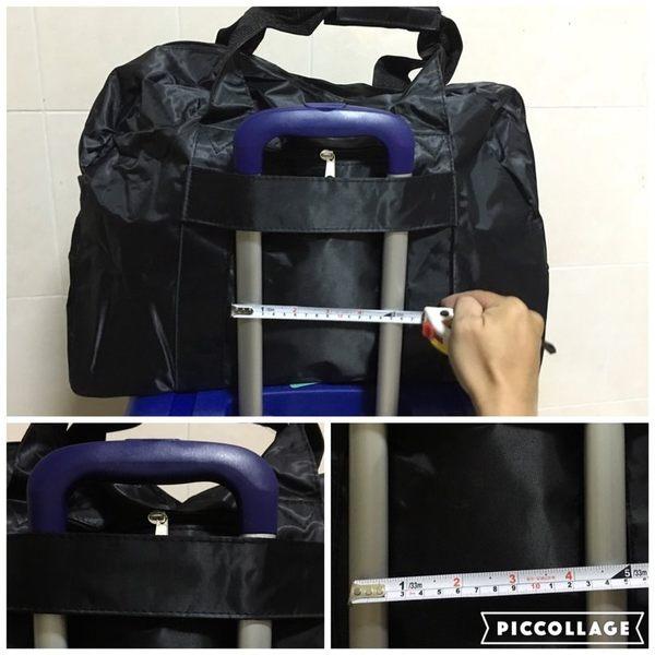 旅行袋-超強實用大容量防水可水洗二用包/ 旅行袋 /可套拉桿A4545