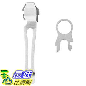 [美國直購] Leatherman 934850 口袋夾/工具鉗通用鋼夾 Quick-Release Pocket Clip and Lanyard Ring
