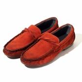 真皮懶人鞋 純色-美式街頭休閒百搭男豆豆鞋4色73kv90【巴黎精品】