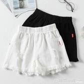 女童短褲年新款洋氣中大童夏季薄款褲子兒童牛仔夏裝百搭外穿 中秋節