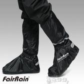 雨鞋套牛津佈防雨鞋套高幫高筒防水防雪防風寒保暖護腳 雲朵走走