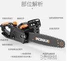 科麥斯電錬鋸家用木工多功能伐木鋸小型大功率手持電動手提電鋸子HM 3C優購