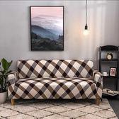 帕布沙發套全包全蓋沙發罩沙發墊現代簡約美式坐墊四季通用布藝
