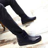 水鞋雨鞋男膠鞋低筒水靴雨靴短筒男士時尚成人防水鞋套鞋韓版 早秋最低價促銷