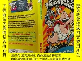 二手書博民逛書店CAPTAIN罕見UNDERPANTS AND THE PERILOUS PLOT OF PROFESSOR PO