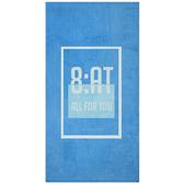【8:AT 】棉絨印花大浴巾(北歐藍)(未滿3件恕無法出貨,退貨需整筆退)