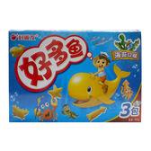 好麗友好多魚餅乾-海苔 90G【愛買】
