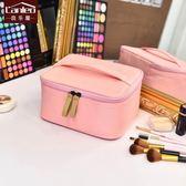 化妝包大容量小號便攜韓國簡約旅行出游小淑女多功能品洗漱收納包