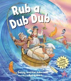 【麥克書店】RUB A DUB DUB /英文繪本附CD 《主題: 歡唱歌曲》