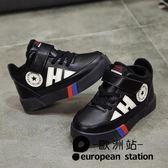 童鞋/男韓版冬女童運動鞋秋季兒子秋冬款加絨休閒鞋「歐洲站」