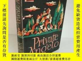 二手書博民逛書店Private罕見Angelo by Eric Linklate