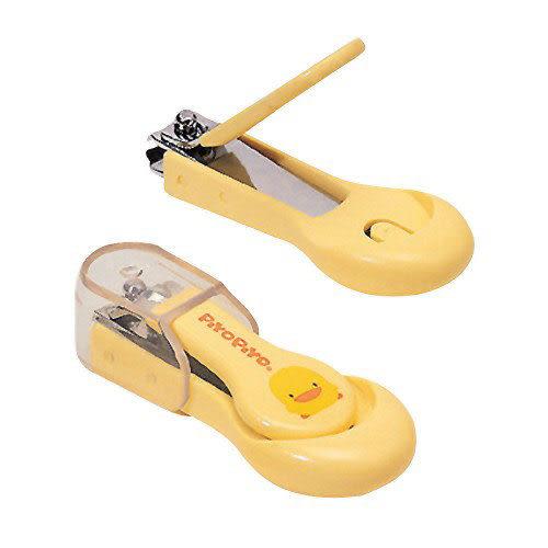 【奇買親子購物網】黃色小鴨嬰幼兒指甲剪