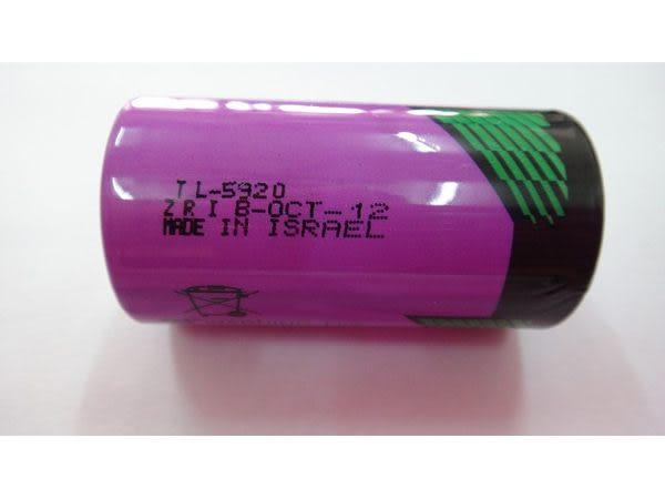 全館免運費【電池天地】TADIRAN TL-5920 3.6V 2號鋰電池C-以色列製工業用電池