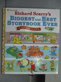 【書寶二手書T1/語言學習_PNG】Richard Scarry s Biggest and Best Storybook Ever