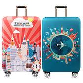 拉桿行李箱彈性加厚保護套/防塵罩(M)1入 2款可選【小三美日】