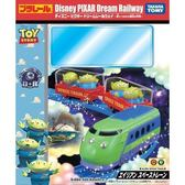 《 TAKARA TOMY 》Disney x PLARAIL 三眼怪可愛列車 ╭★ JOYBUS玩具百貨