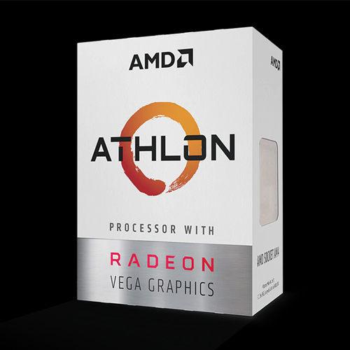 全新 AMD ATHLON 200GE 3.2GHz 雙核心處理器 (內含風扇)  盒裝三年保固