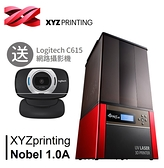 Nobel 1.0A 光固化3D列印機 送羅技Logitech C615視訊攝影機
