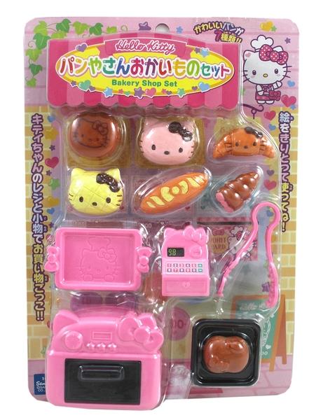 【卡漫城】 Hello Kitty 烤麵包組 ㊣版 日版 遊戲組 收銀機 麵包店 扮家家酒 烤箱 兒童 玩具 女孩