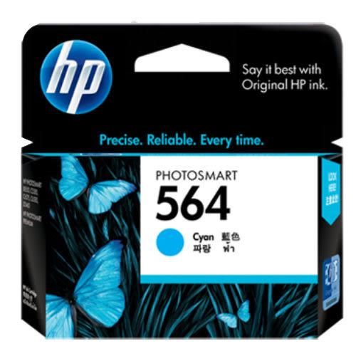 【奇奇文具】【HP墨水匣】CB318WA NO.564 藍色原廠墨水匣/D5460/C5380/C6380