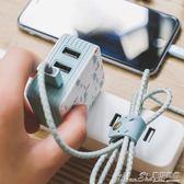USB插頭手機充電器插頭多孔手機電源適配充電頭多功能usb蘋果安卓充電插 曼莎時尚