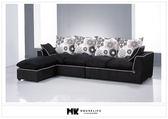 【MK億騰傢俱】BS142-03安格拉L型布沙發