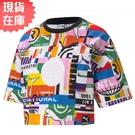 【現貨】PUMA PI 女裝 短袖 短版 休閒 街頭 滿版 印花 歐規【運動世界】53074002