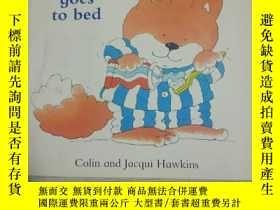 二手書博民逛書店Collins罕見Toddler Foxy goes to bedY380600 Colin & Ja