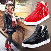 童鞋女童靴子秋冬款短靴正韓冬季兒童靴百搭鞋子加絨棉鞋