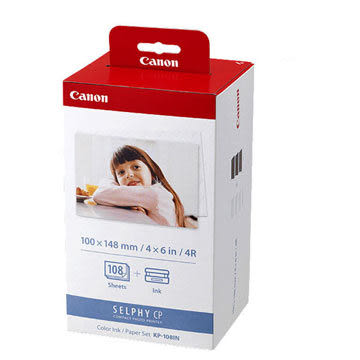 Canon KP-108IN  4X6印相紙 適用CP1300 CP1200 CP910系列印相機