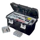 酷爾 雙開式工具箱 收納箱 手提箱 零件箱 置物箱 器材箱 器具箱 多功能工具箱 螺絲箱