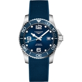 LONGINES 浪琴 深海征服者浪鬼陶瓷潛水機械錶-藍x41mm L37814969