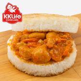 【KK Life-紅龍】川味椒麻雞丁米漢堡(170g/顆; 3顆/袋)
