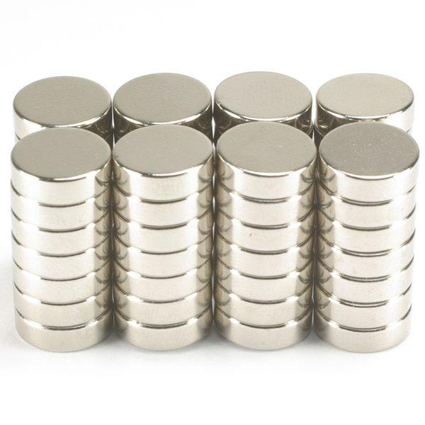 釹鐵硼強力磁鐵圓1.0公分*厚0.3公分 56個 4.5元/個