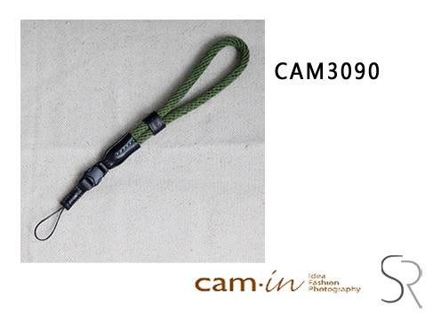 《 統勛.照相》Cam-in CAM 相機背帶 棉織 相機手腕帶 CAM3090 軍綠