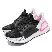 adidas 慢跑鞋 UltraBoost 19 W 黑 白 女鞋 運動鞋 【PUMP306】 EF1625