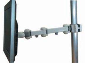 SPEEDCOM LCD ARM LA-1280W 夾管型液晶螢幕支撐架