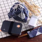 保溫飯盒 日式塑料學生保溫飯盒成人單層便當盒可微波爐分格愛心加熱餐盒—全館新春優惠