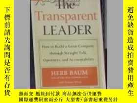 二手書博民逛書店英文原版罕見The Transparent Leader by