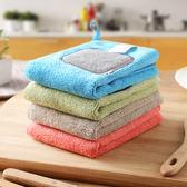 加厚廚房洗碗布吸水抹布搞衛生毛巾不掉毛清潔布洗碗巾百潔布 熊貓本