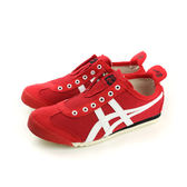 Onitsuka Tiger MEXICO 66 SLIP-ON 運動鞋 休閒 紅色 男女鞋 D3K0N-2301 no263
