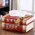 HONEY COMB 出清 愛情鑰匙書本面紙盒 三色款 紅色 GT-3388