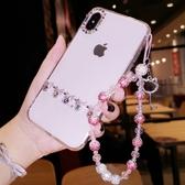 蘋果 iPhone XS MAX XR iPhoneX i8 Plus i7 Plus I6Splus 蝴蝶結水滴鑽殼 手機殼 水鑽殼 訂製