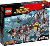 樂高Lego SUPER HEROES 超級英雄【76057 Web Warriors Ultimate Bridge】