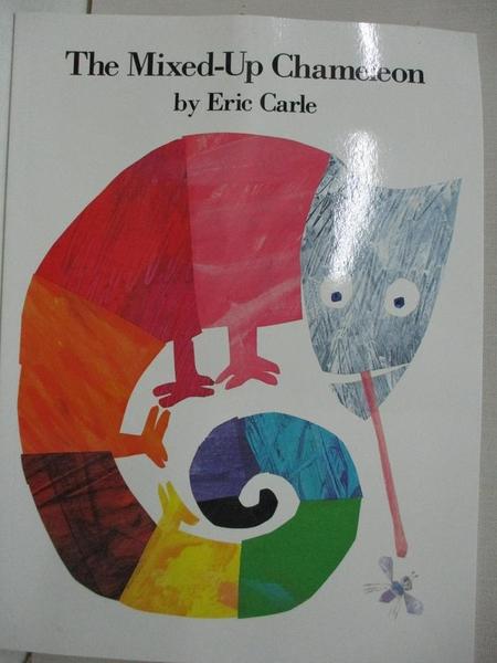 【書寶二手書T1/少年童書_DW4】The Mixed-Up Chameleon_Carle, Eric