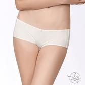 LADY 夢幻W系列 中低腰平口內褲 ( 光影白 )