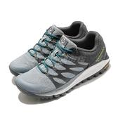 Merrell 戶外鞋 Antora 2 GTX 灰 白 女鞋 Gore-Tex 防水 越野 登山 【ACS】 ML035638